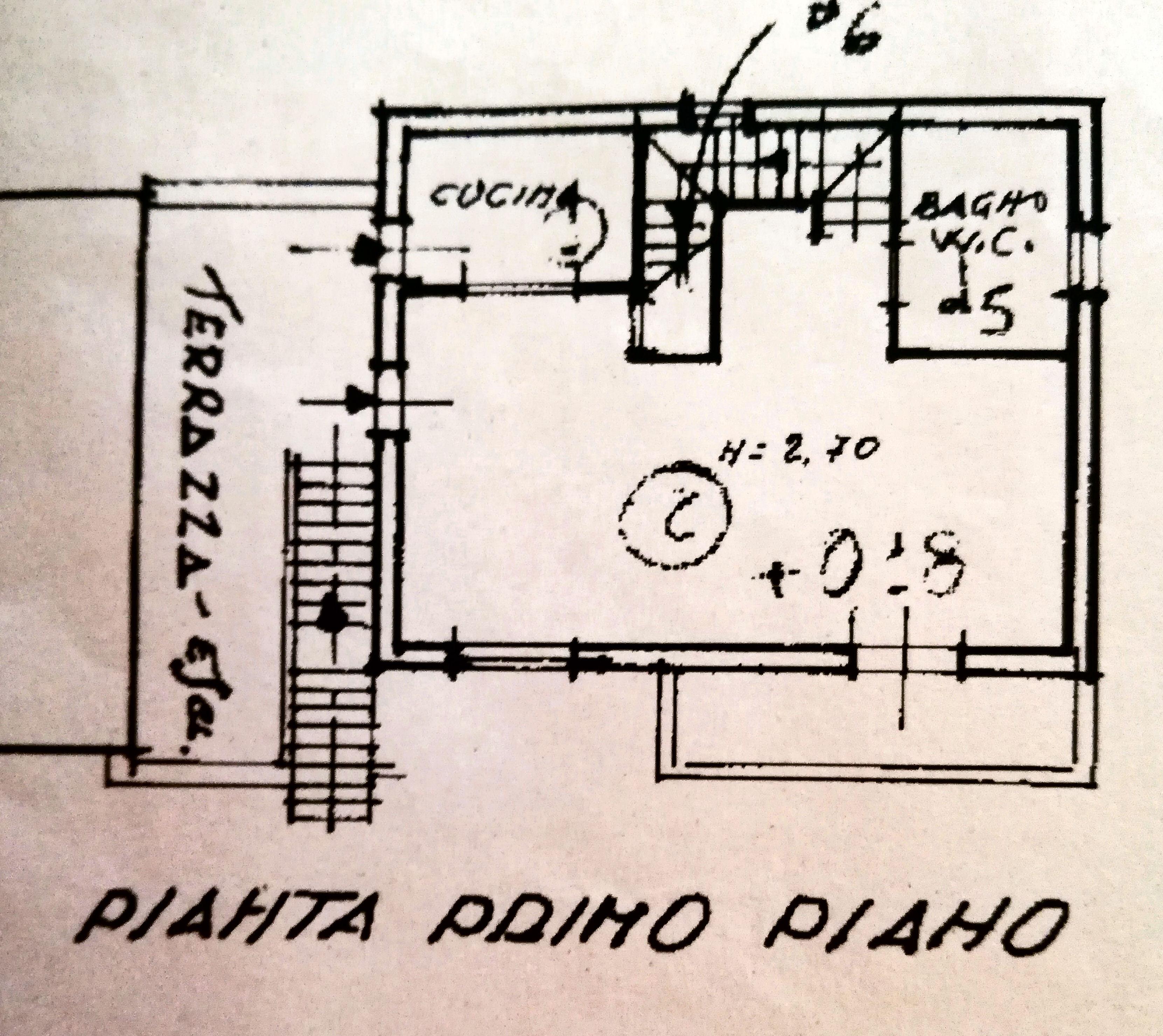 Planimetria 1/2 per rif. IA5284