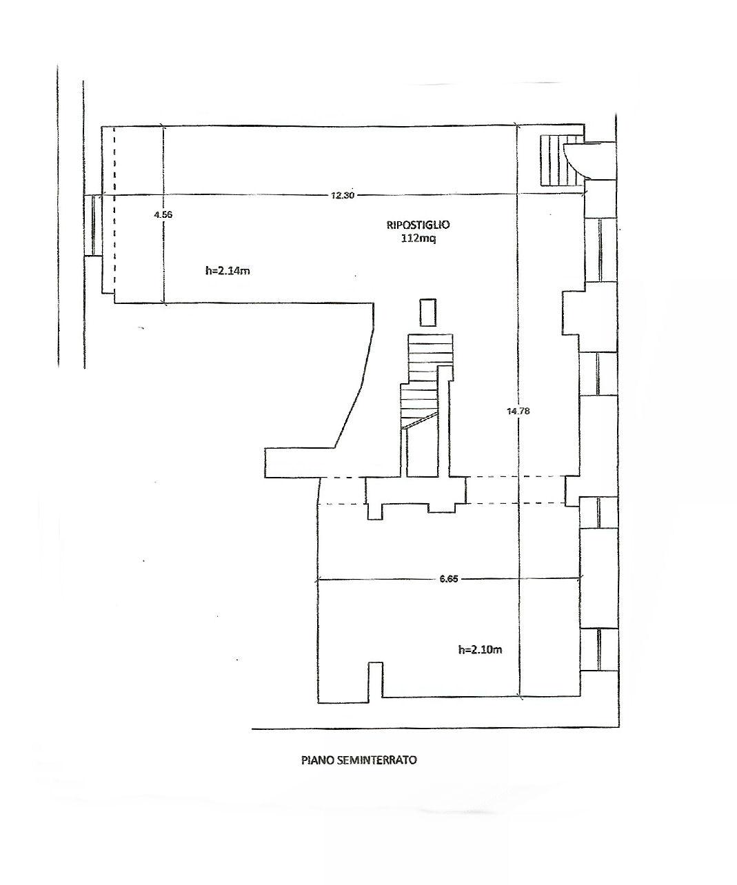 Planimetria 2/2 per rif. UF5296
