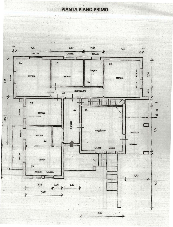 Planimetria 1/2 per rif. IA5305