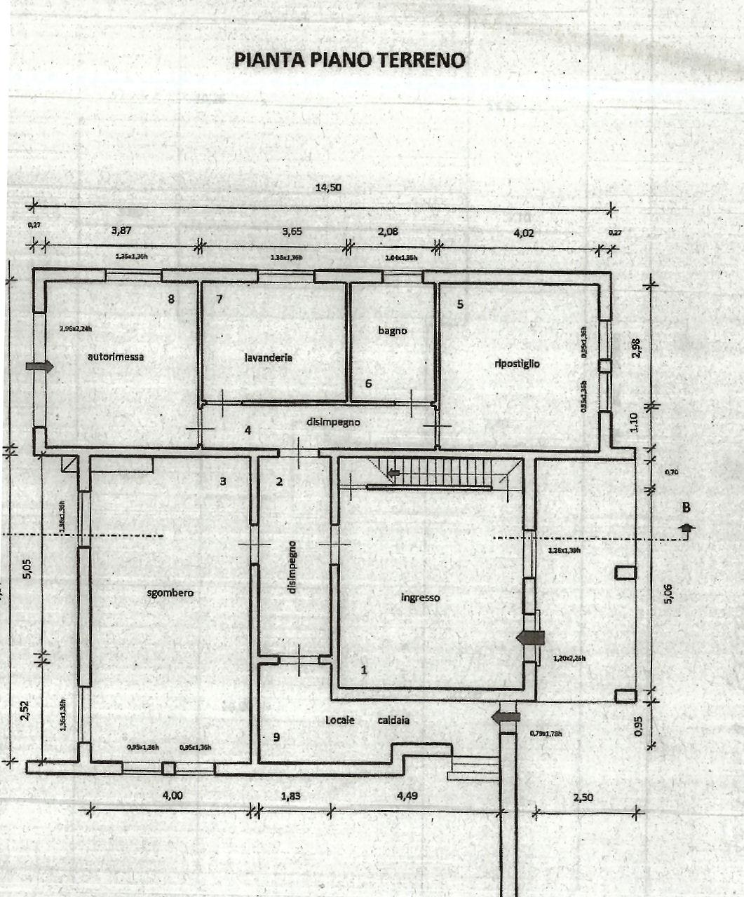Planimetria 2/2 per rif. IA5305