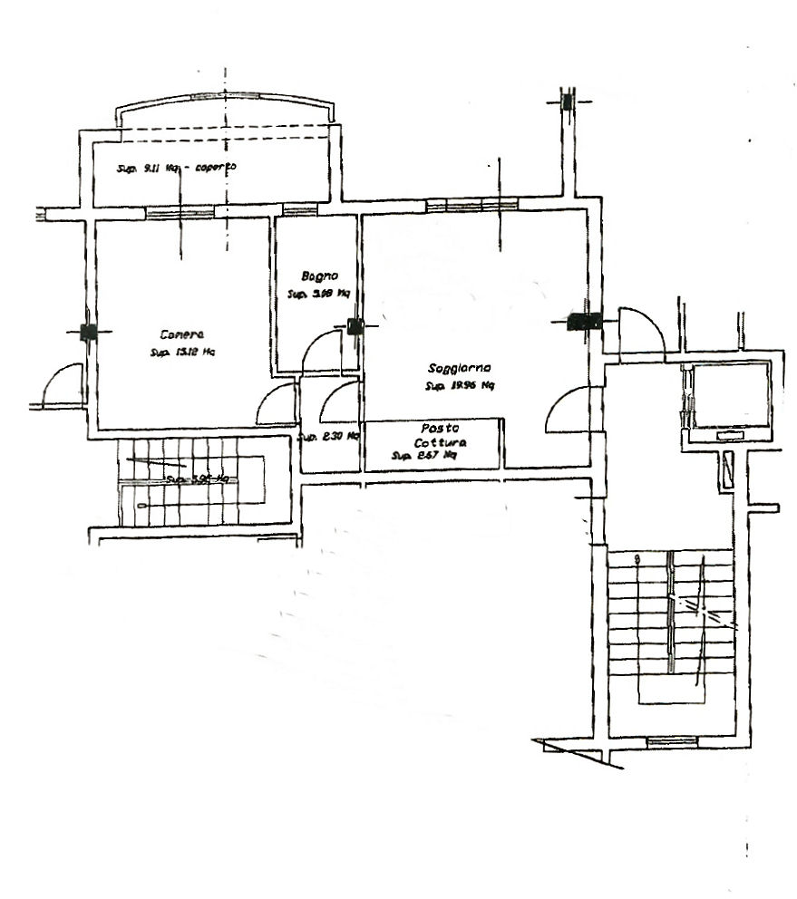 Planimetria 1/1 per rif. AF5315