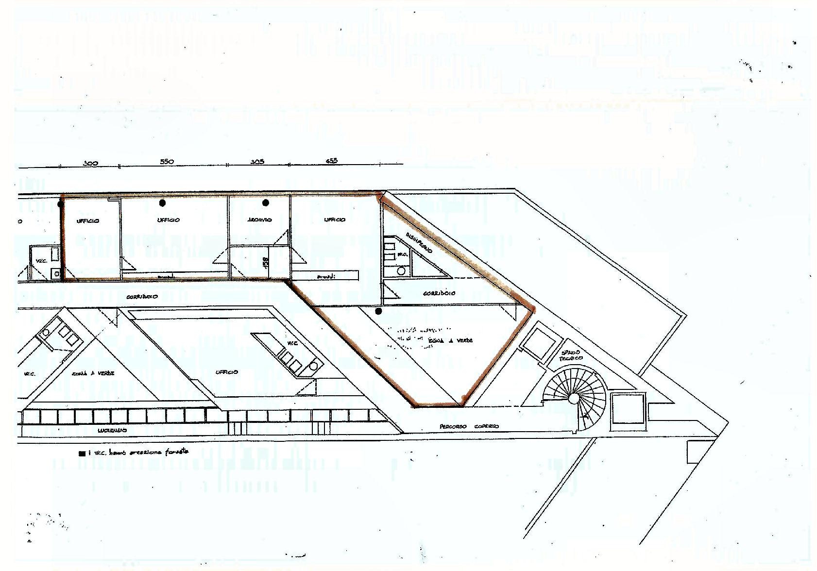 Planimetria 1/1 per rif. UF5318