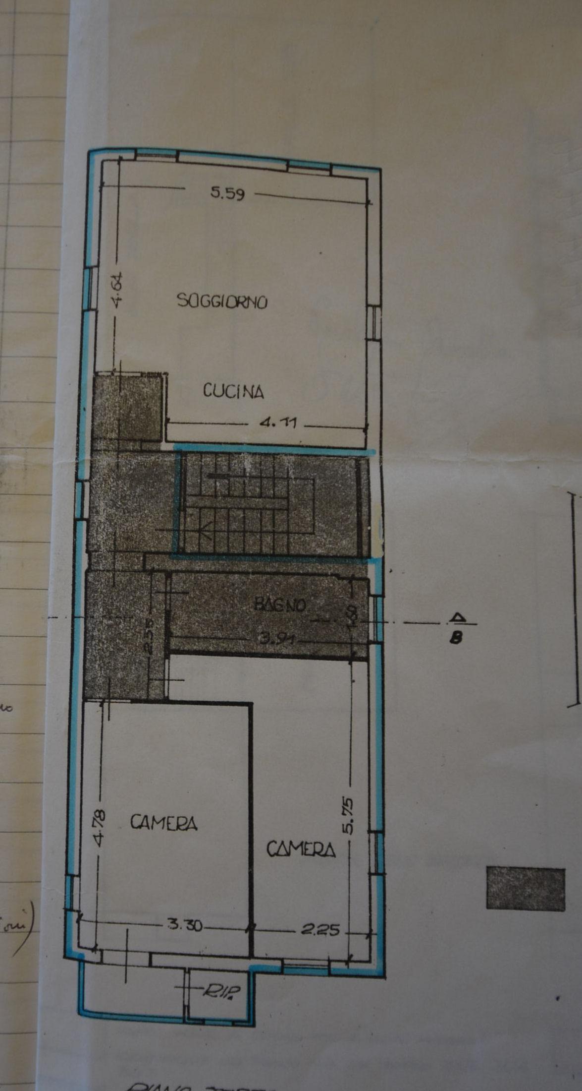Planimetria 1/1 per rif. IA5327