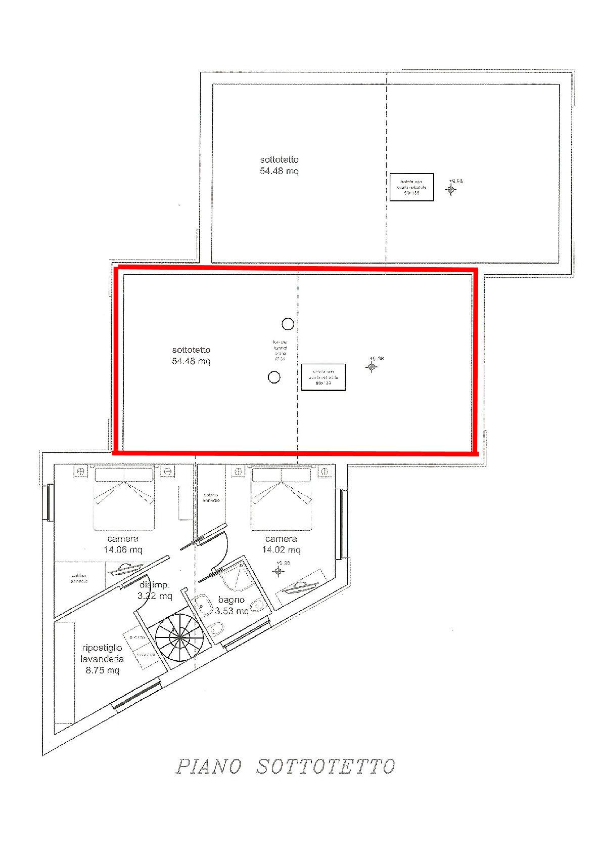 Planimetria 3/3 per rif. IA5351