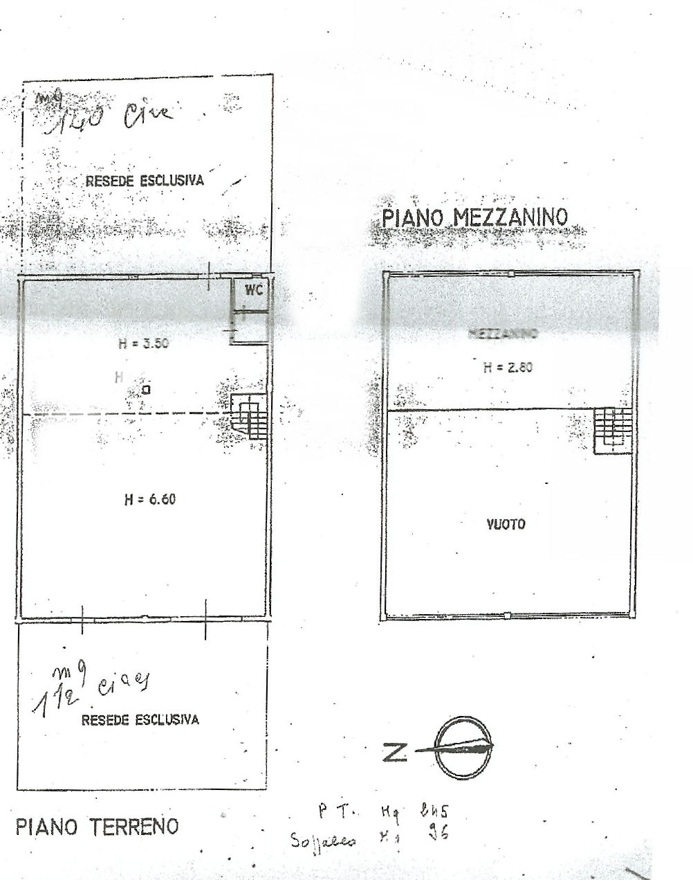 Planimetria 1/1 per rif. uf5355