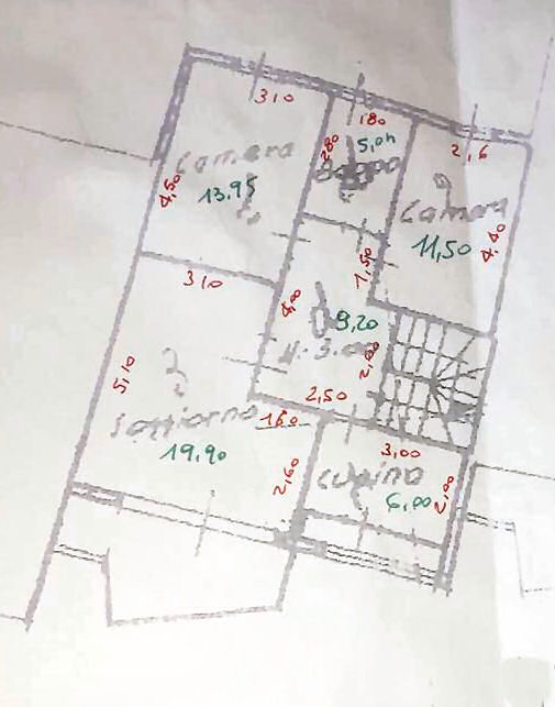 Planimetria 1/2 per rif. IA5357