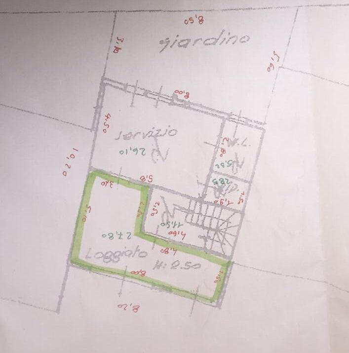 Planimetria 2/2 per rif. IA5357