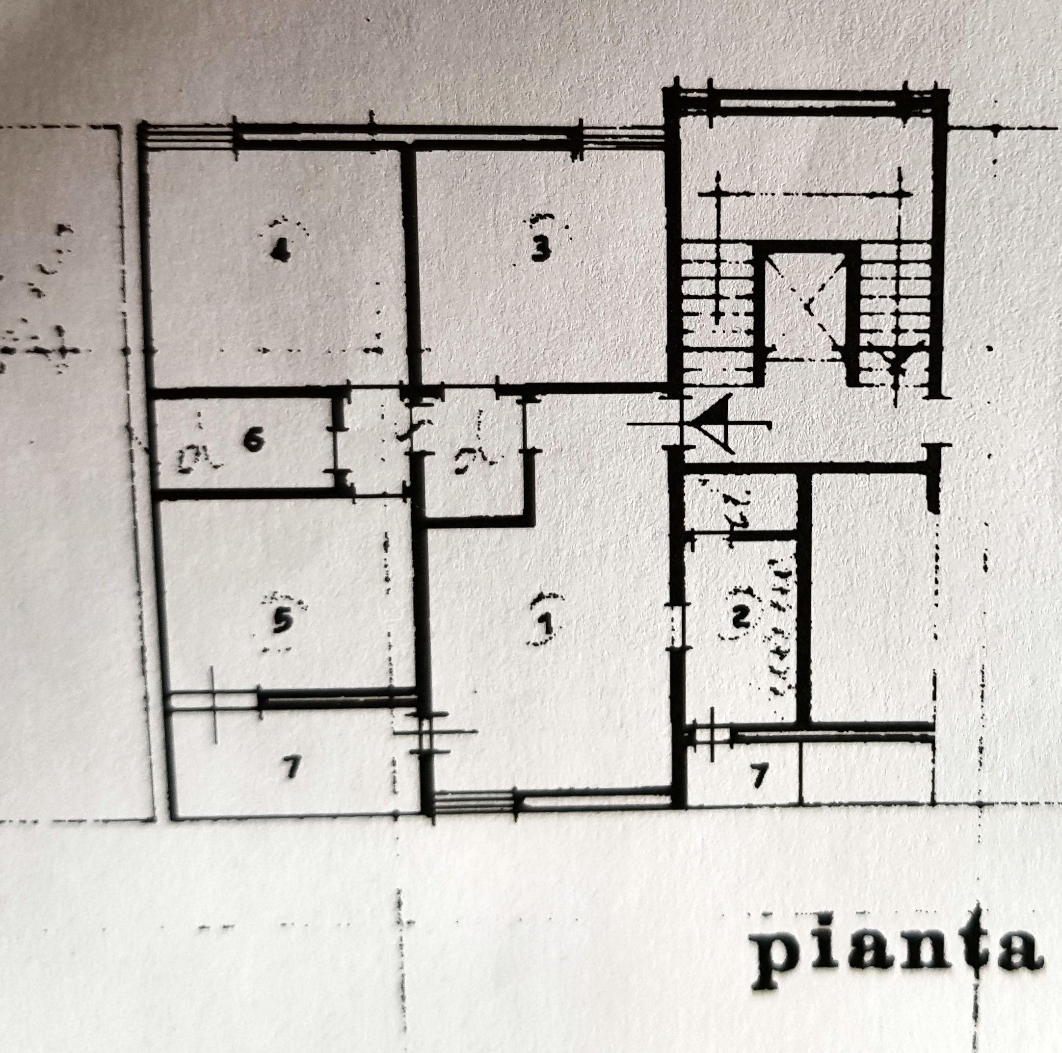 Planimetria 1/1 per rif. IA5366