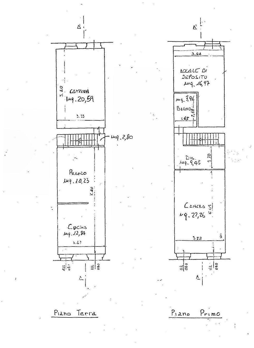 Planimetria 2/3 per rif. IA5367