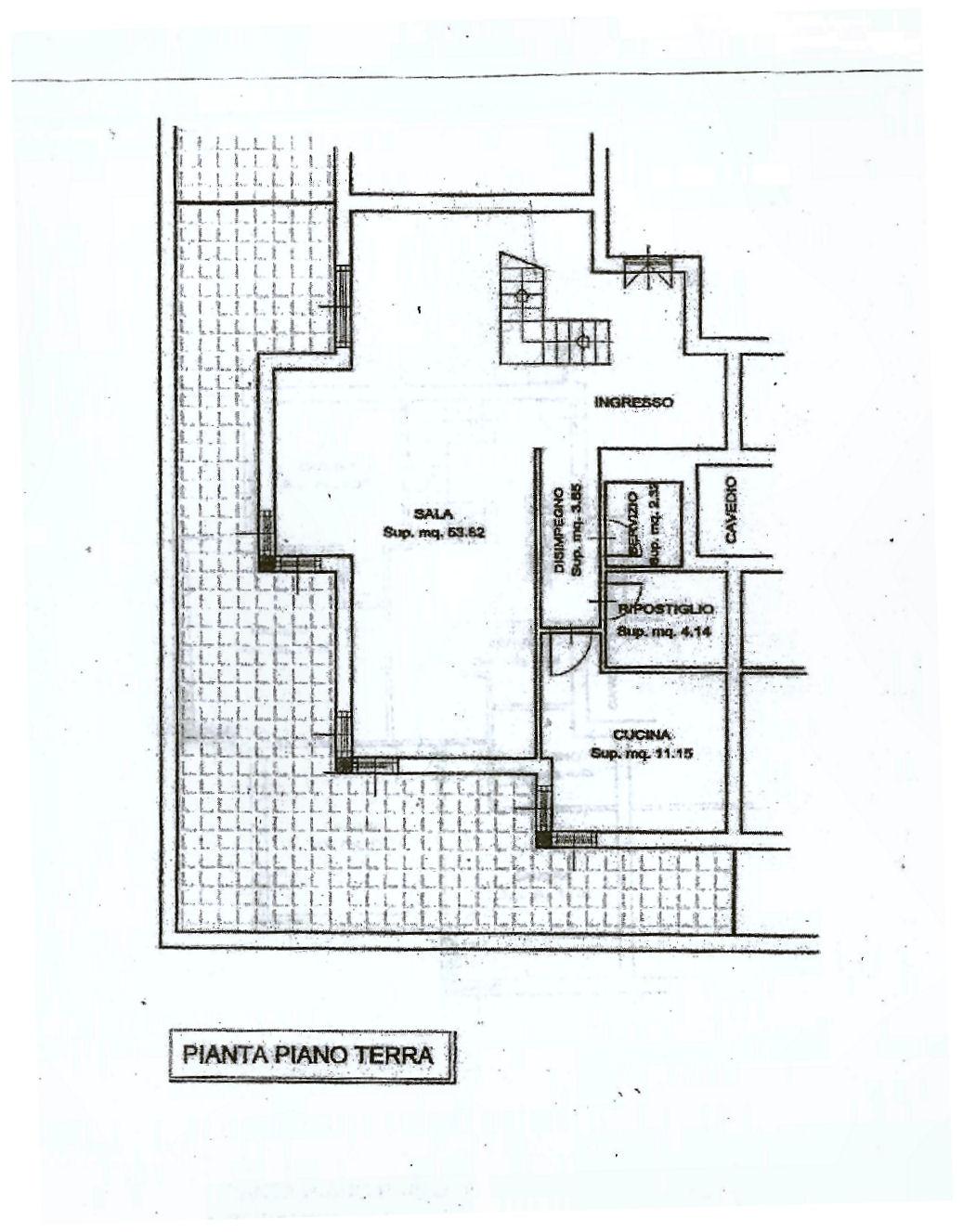 Planimetria 1/2 per rif. IA5369