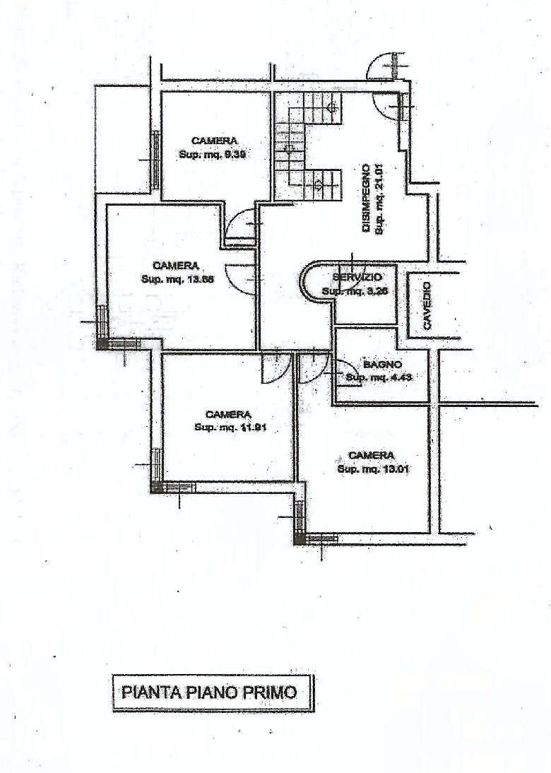Planimetria 2/2 per rif. IA5369