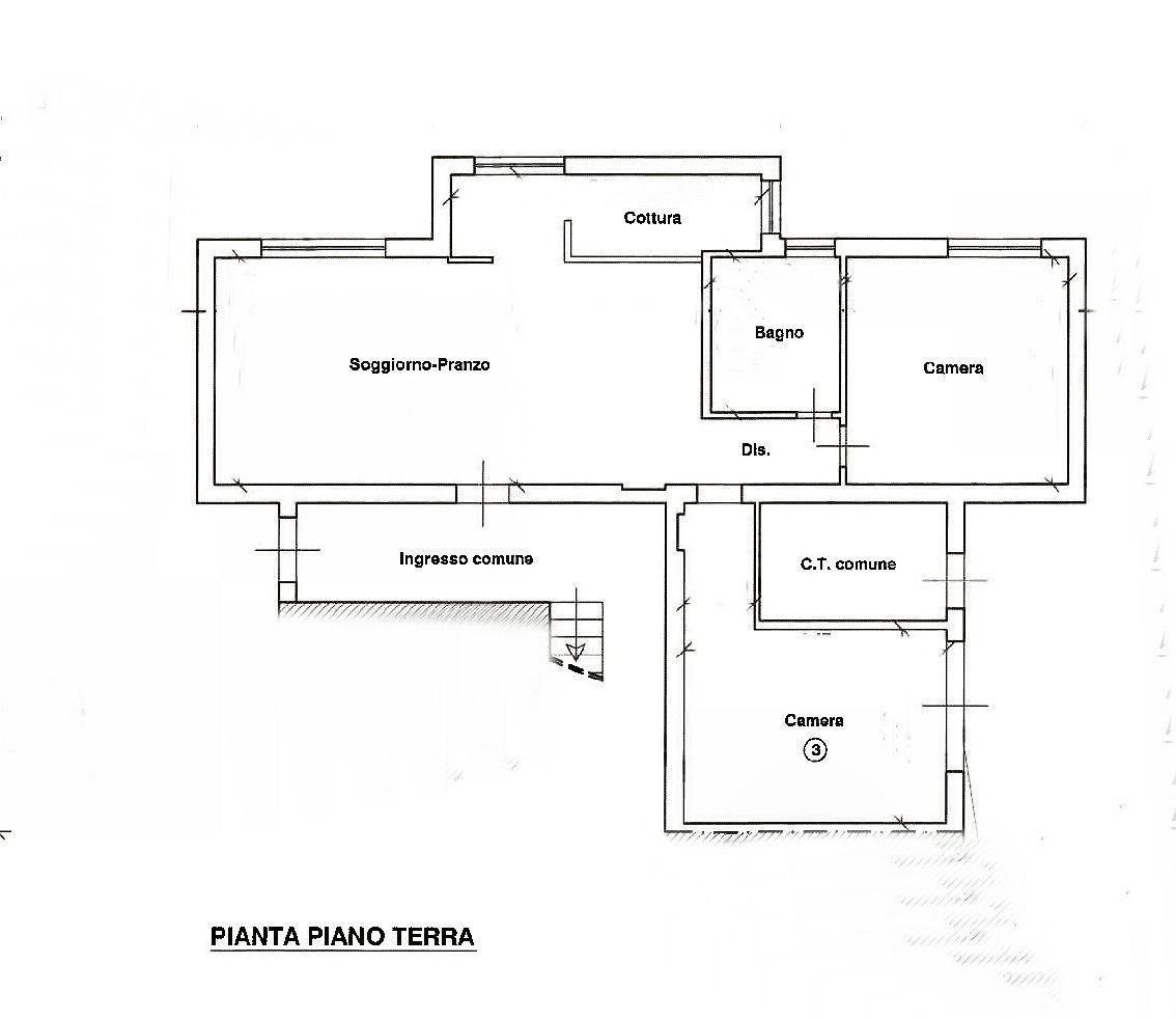Planimetria 1/1 per rif. IA5370