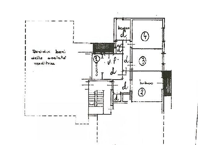 Planimetria 1/1 per rif. ia5378