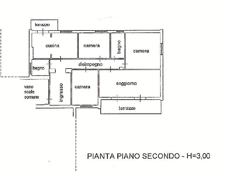 Planimetria 1/1 per rif. IA5381