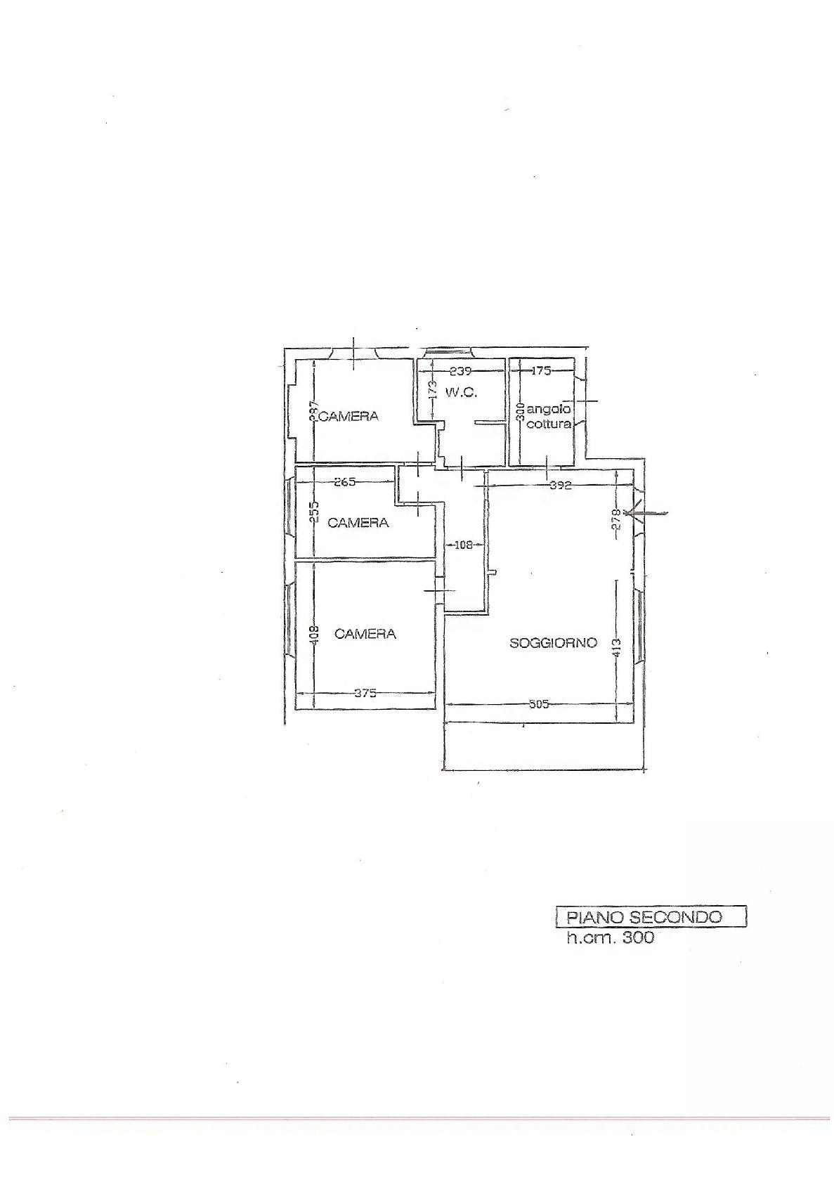 Planimetria 1/1 per rif. IA5384