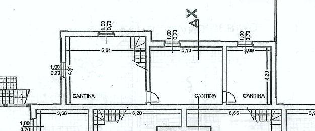 Planimetria 2/2 per rif. IA5387
