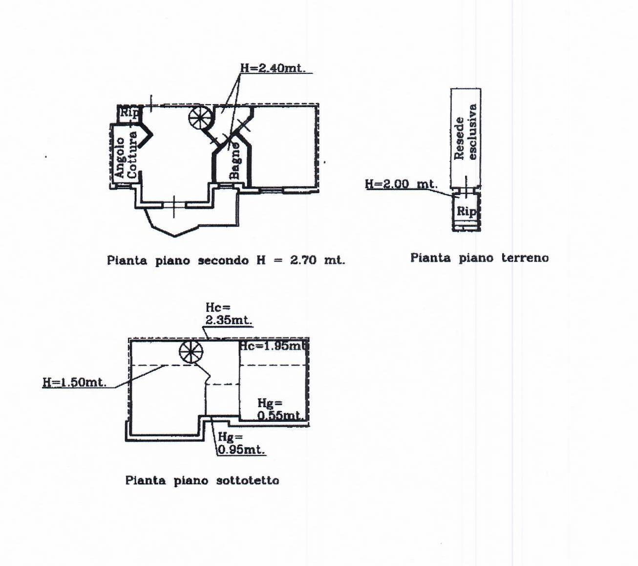 Planimetria 1/1 per rif. IA5399