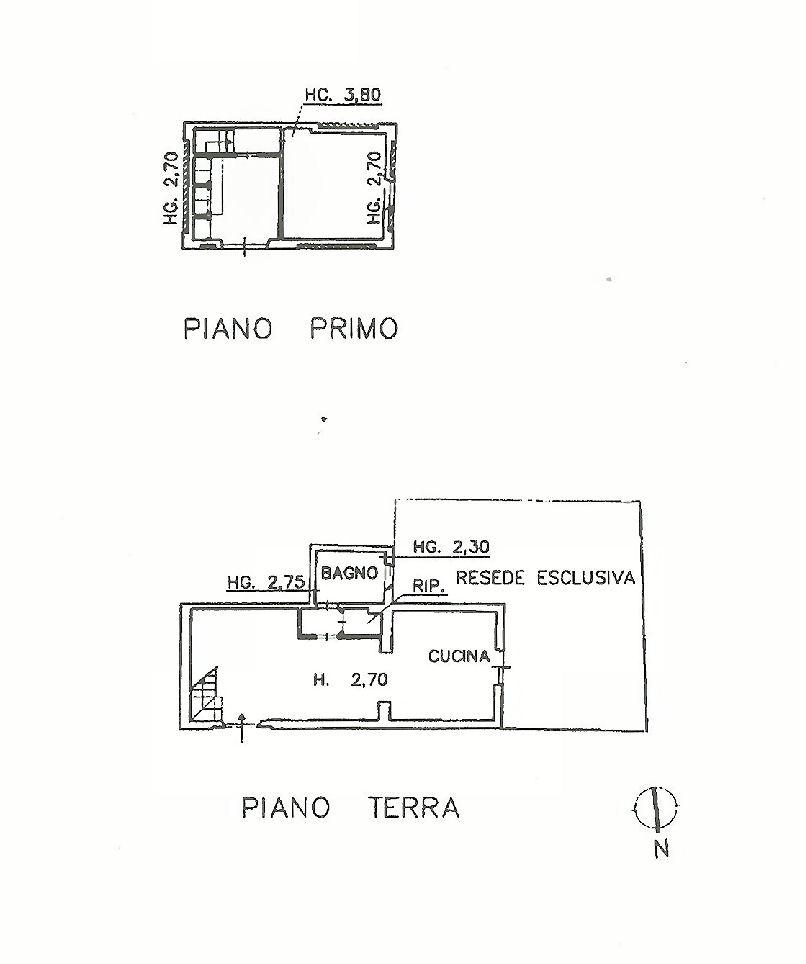 Planimetria 1/1 per rif. IA5400