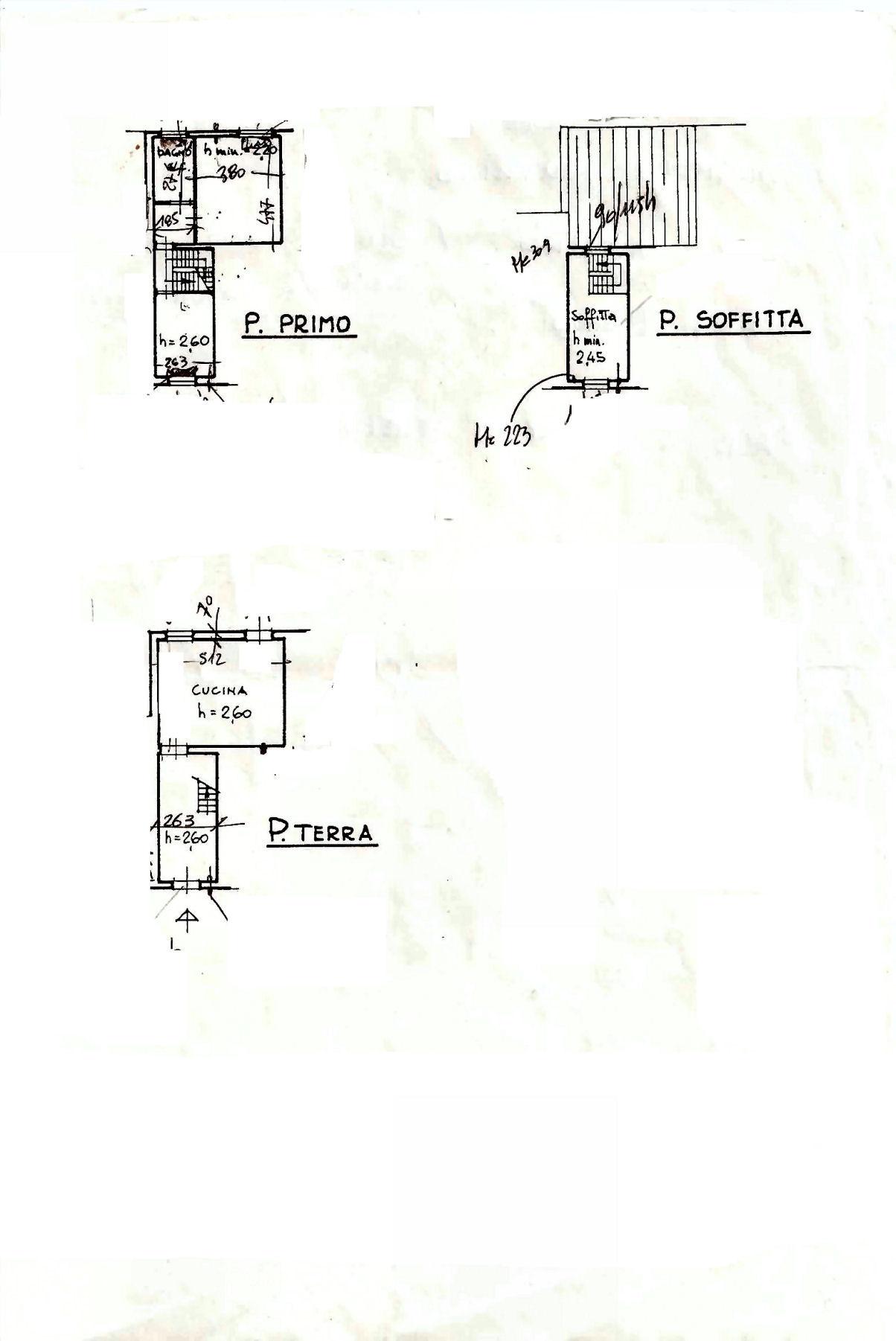 Planimetria 1/1 per rif. AF5402