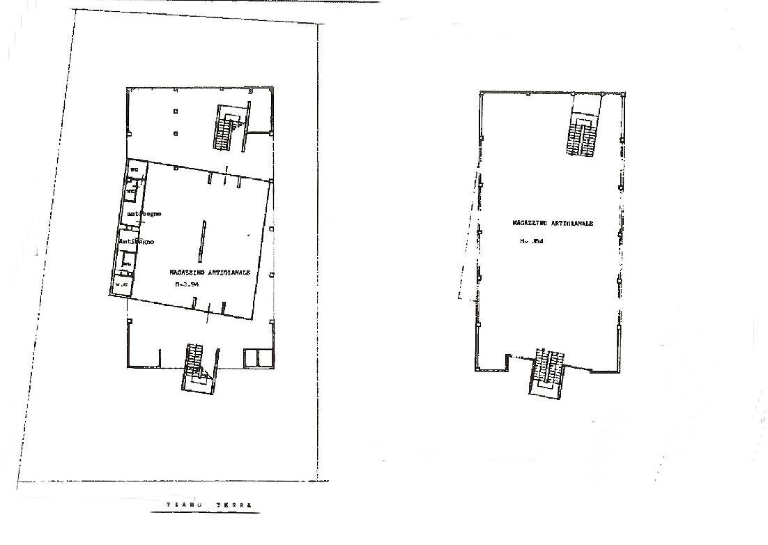 Planimetria 1/1 per rif. UF5404
