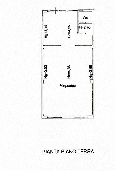 Planimetria 1/1 per rif. uf5413