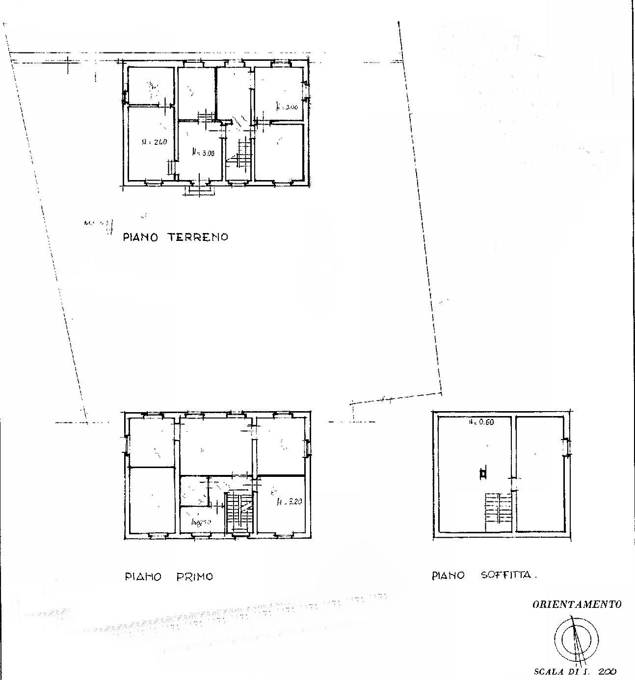 Planimetria 1/1 per rif. IA5416