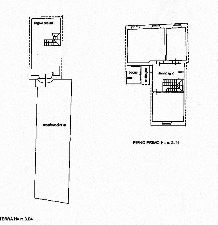 Planimetria 1/1 per rif. IA5424
