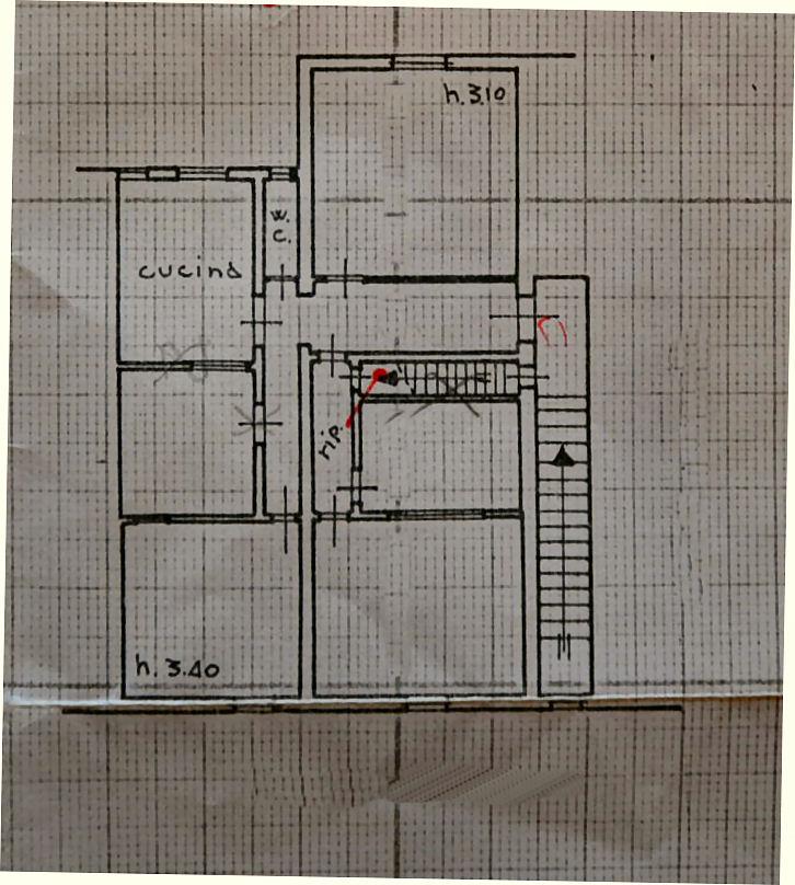 Planimetria 1/1 per rif. IA5436