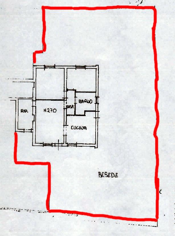 Planimetria 1/1 per rif. IA5451