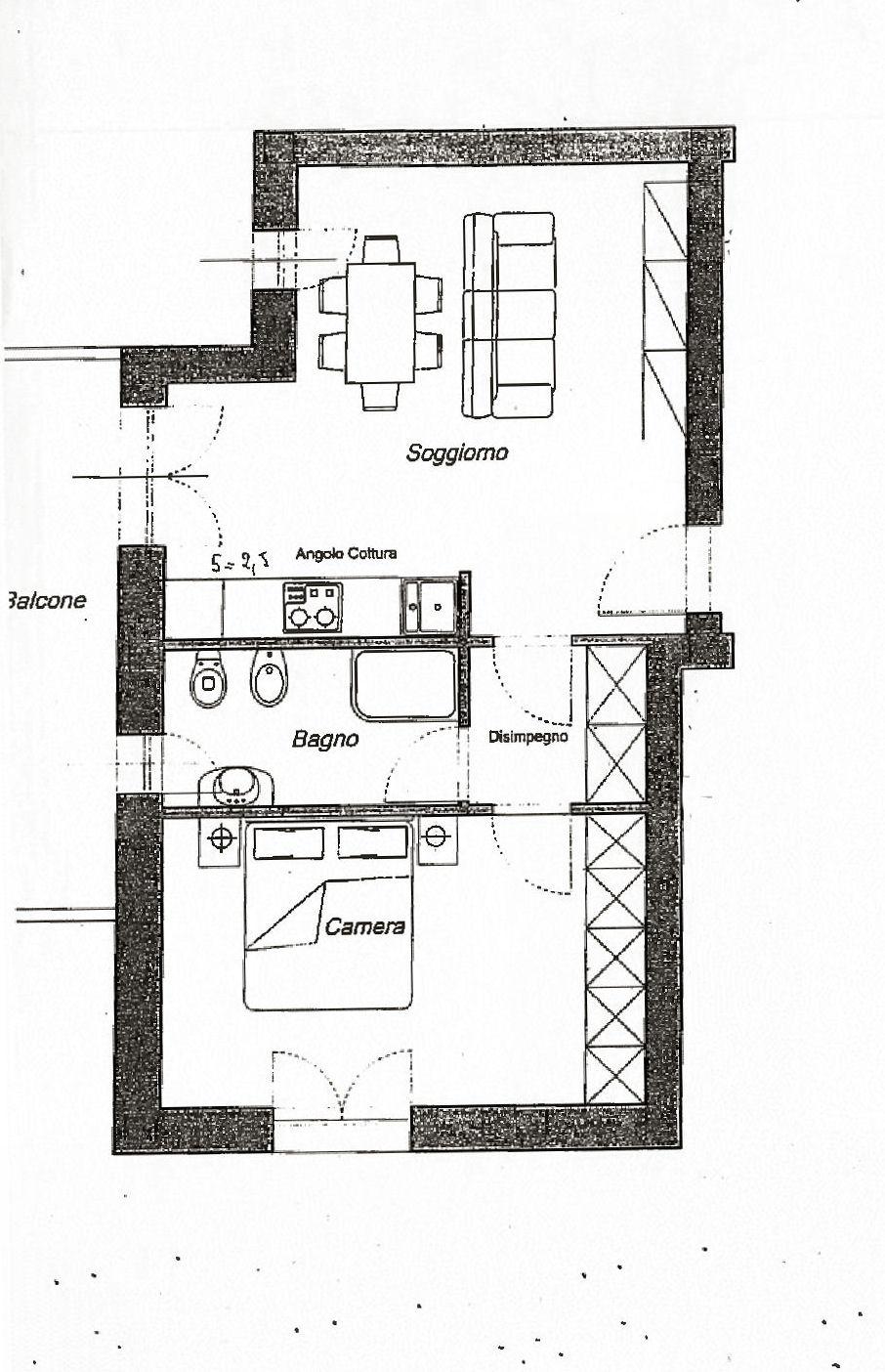Planimetria 1/1 per rif. IA5452