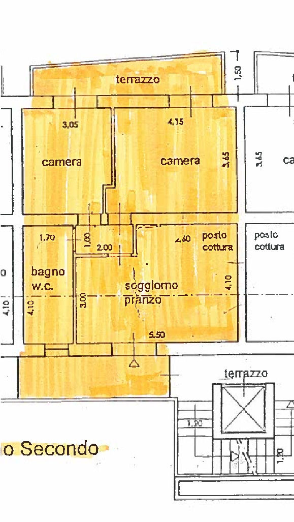 Planimetria 1/1 per rif. AF5498