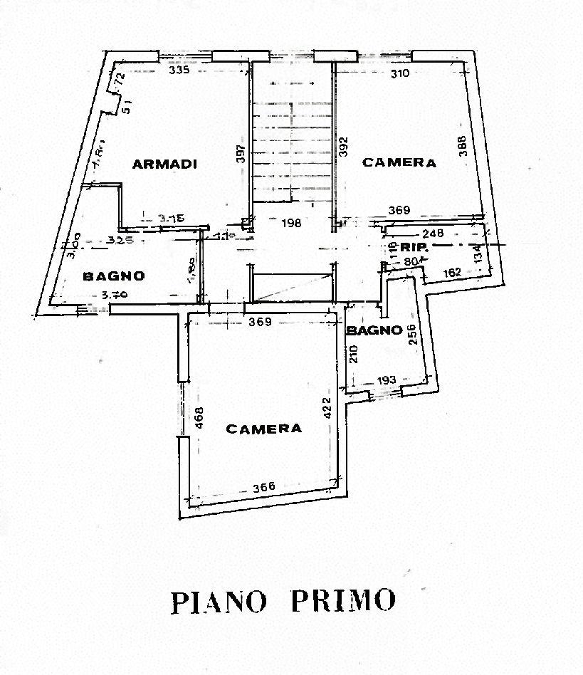 Planimetria 2/2 per rif. AF5458