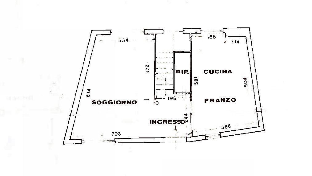 Planimetria 1/2 per rif. AF5458