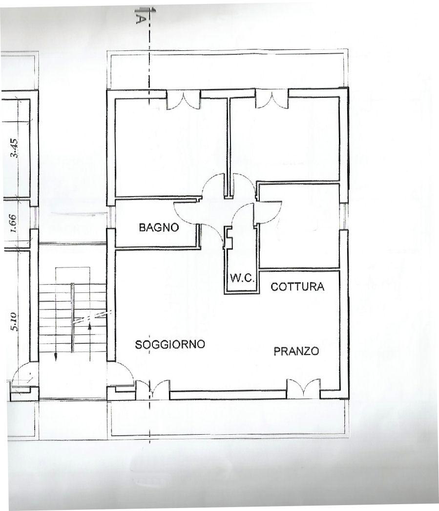 Planimetria 1/2 per rif. IA5459