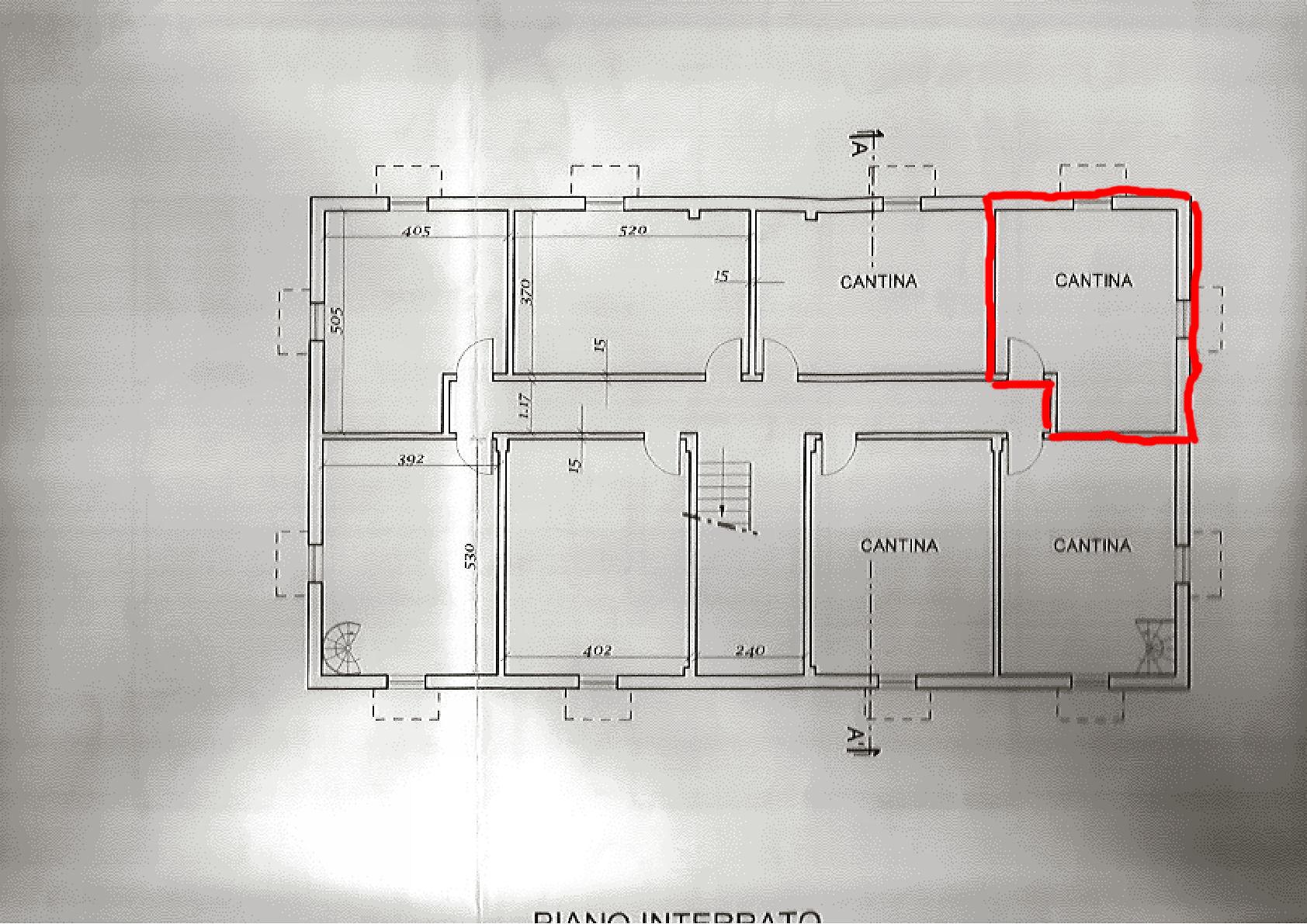 Planimetria 2/2 per rif. IA5459