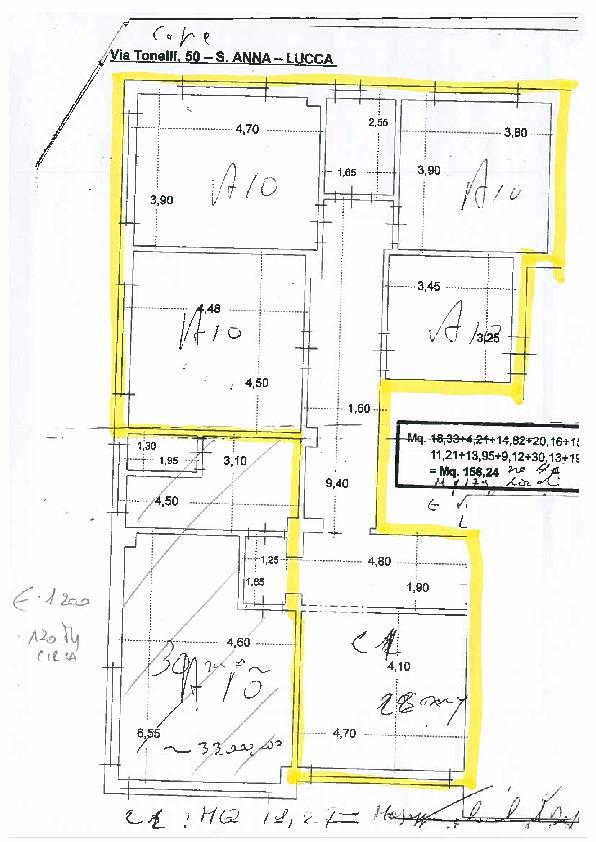Planimetria 1/1 per rif. AF5463