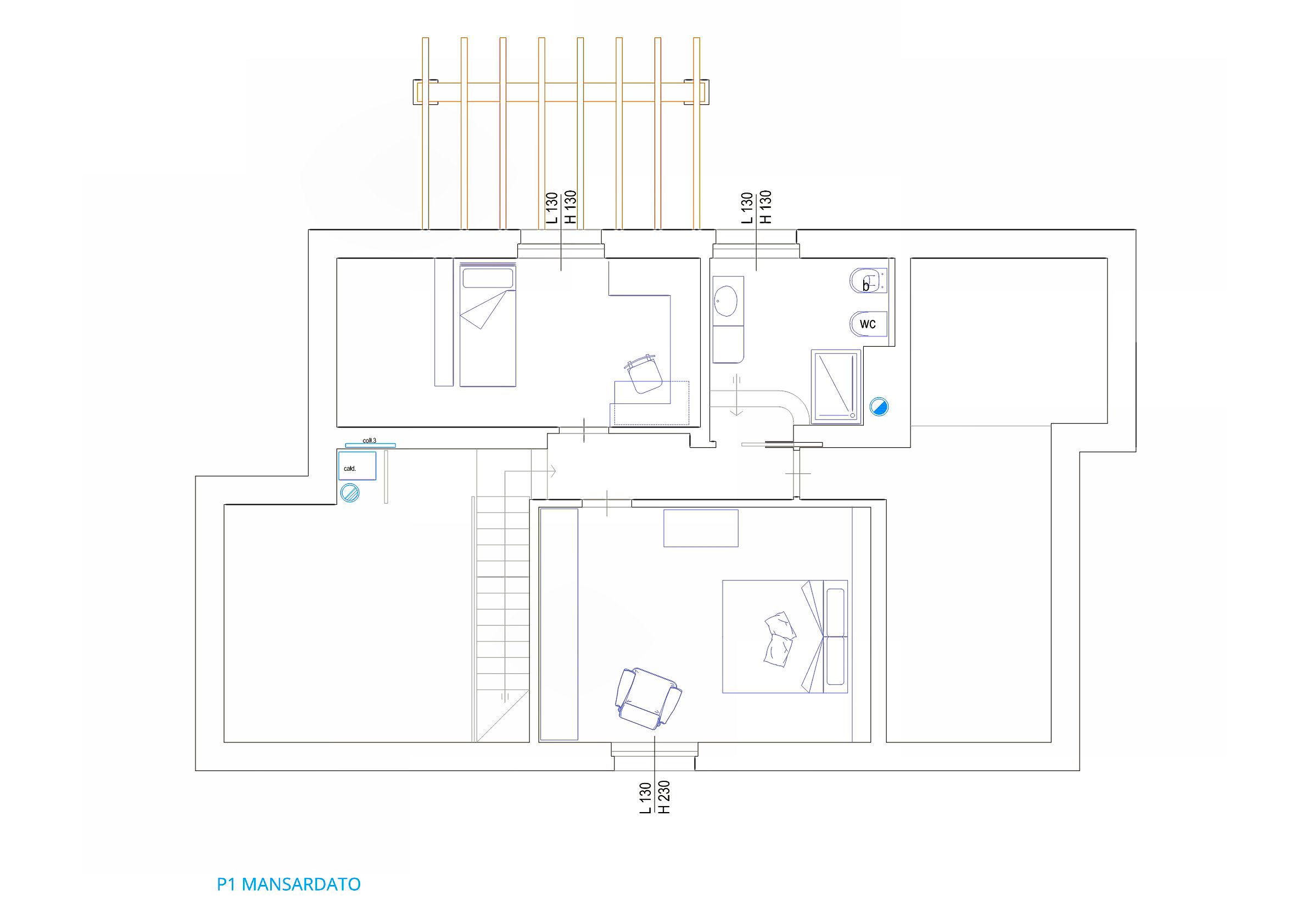 Planimetria 2/3 per rif. IA5639