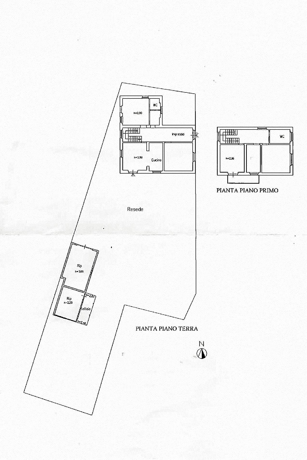 Planimetria 1/1 per rif. IA5465