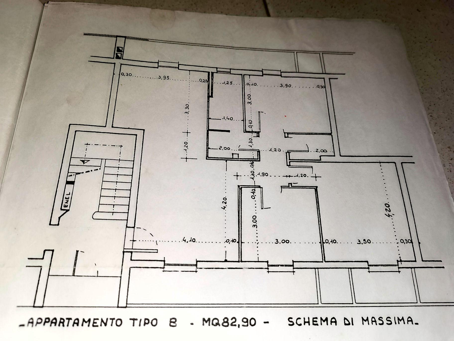 Planimetria 1/1 per rif. IA5476