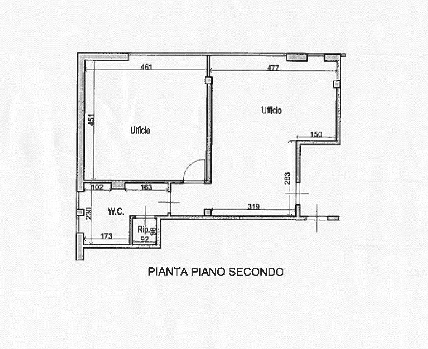 Planimetria 1/1 per rif. AF5479