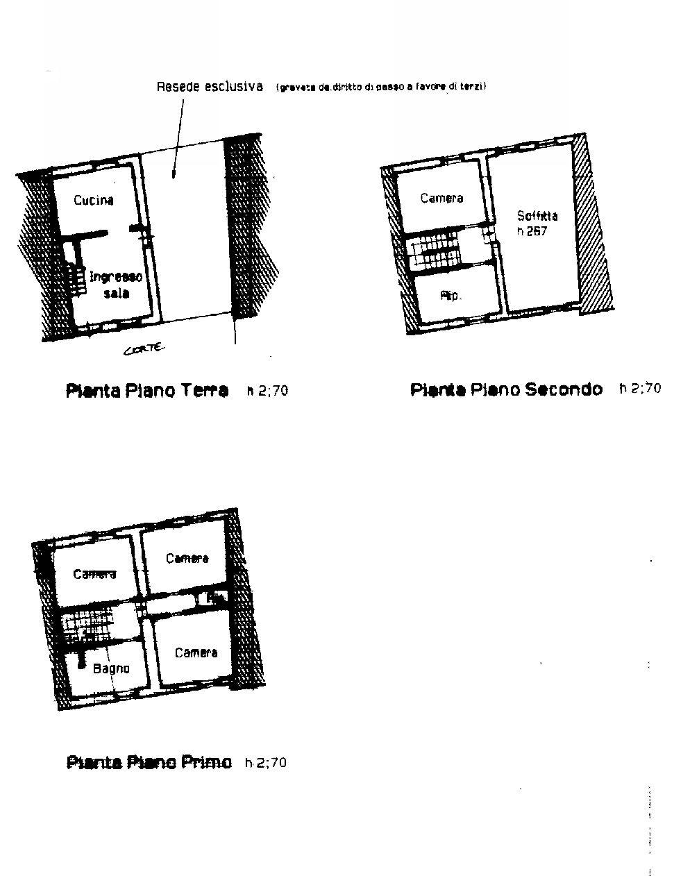 Planimetria 1/1 per rif. IA5486