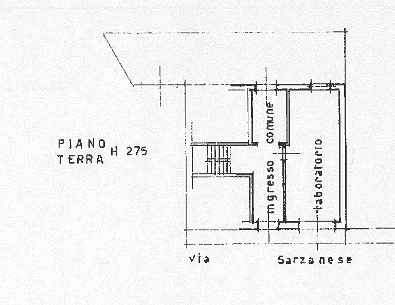 Planimetria 1/2 per rif. UF5488