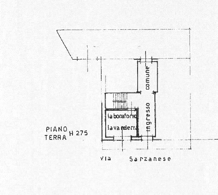 Planimetria 2/2 per rif. UF5488