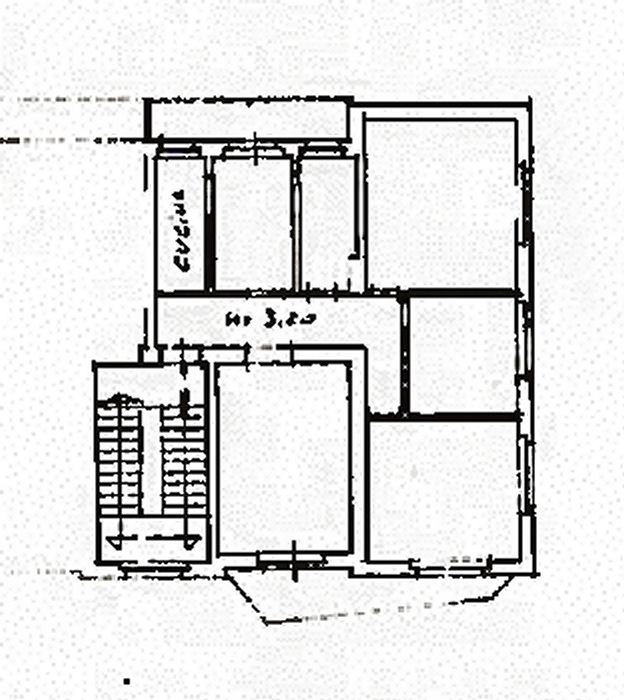 Planimetria 1/2 per rif. ia5489