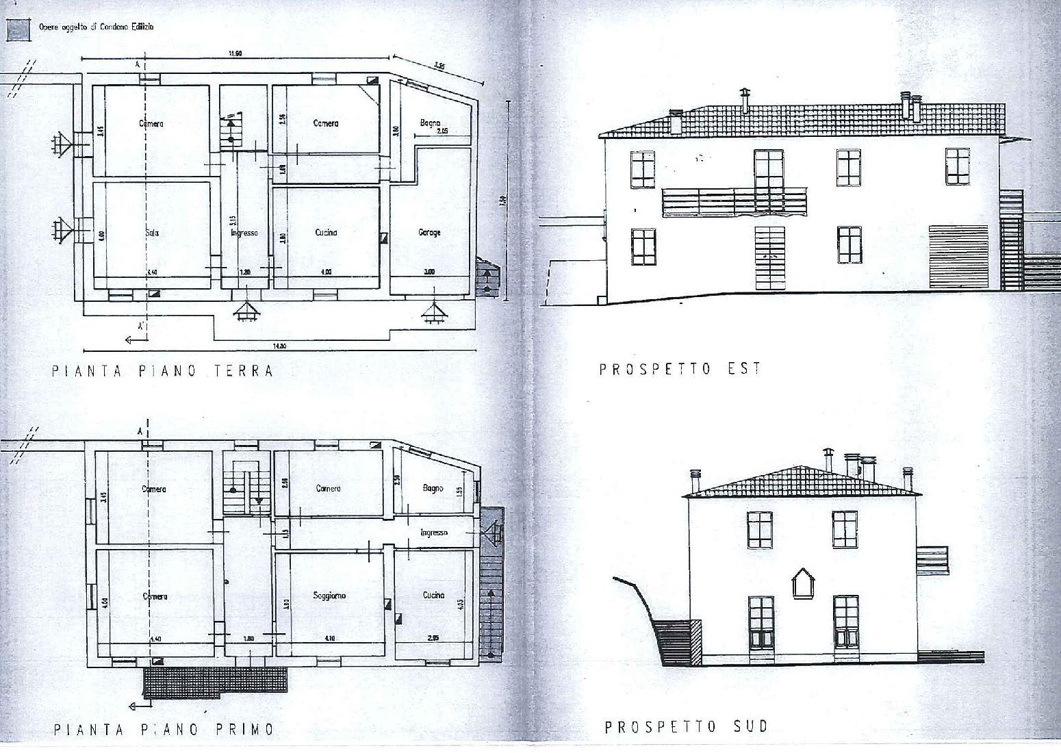 Planimetria 1/1 per rif. IA5524