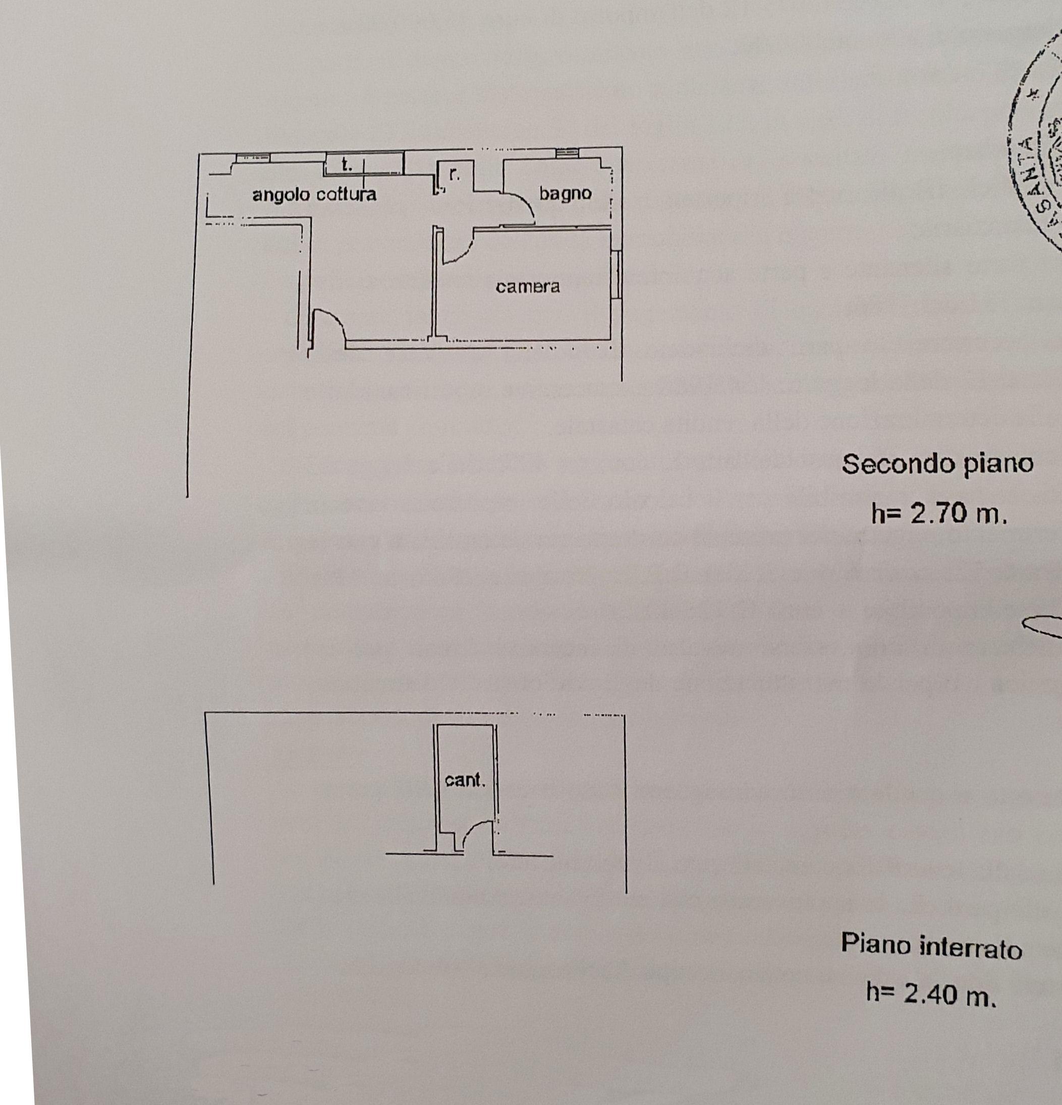 Planimetria 1/1 per rif. AF5529