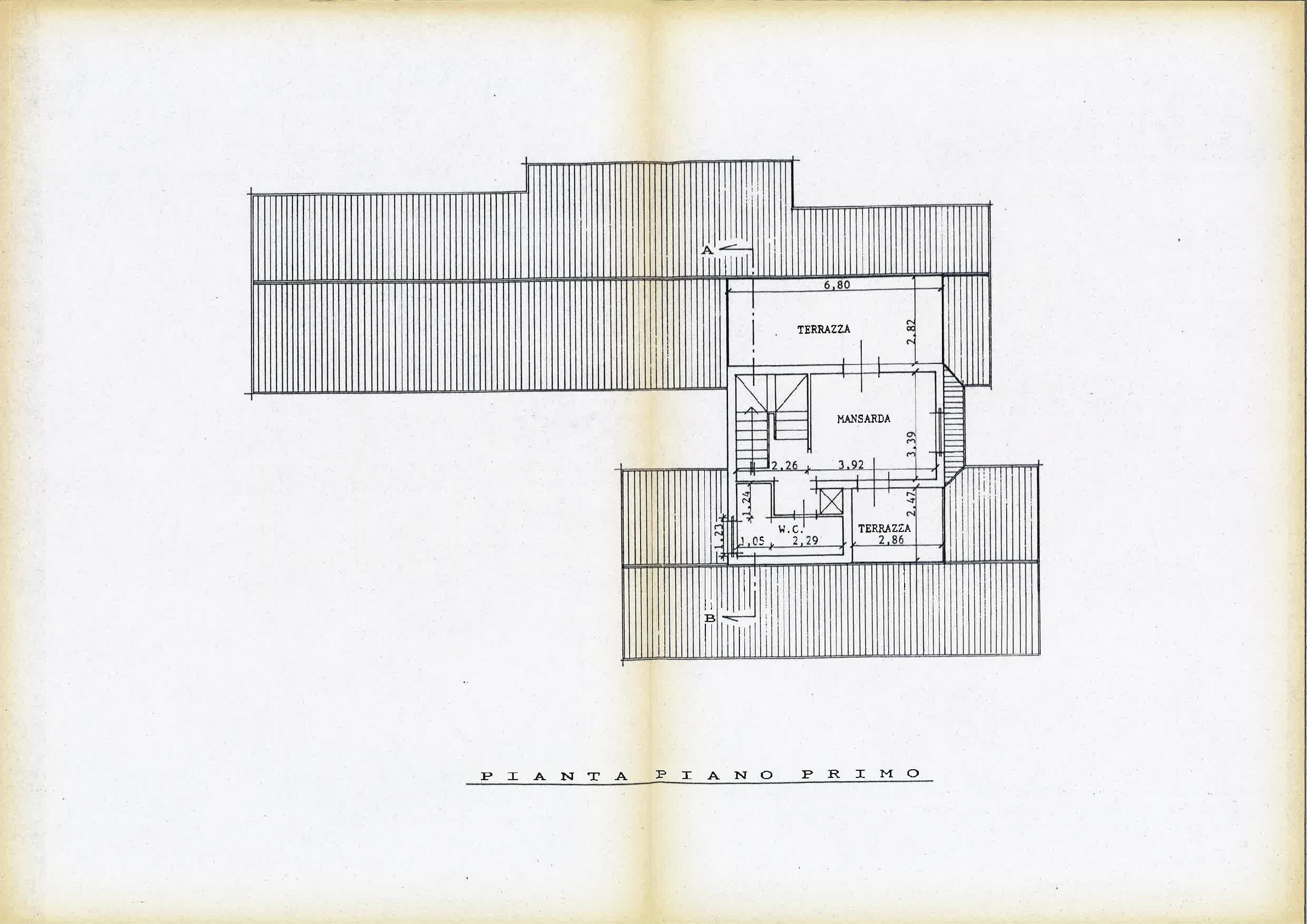 Planimetria 3/4 per rif. IA5530