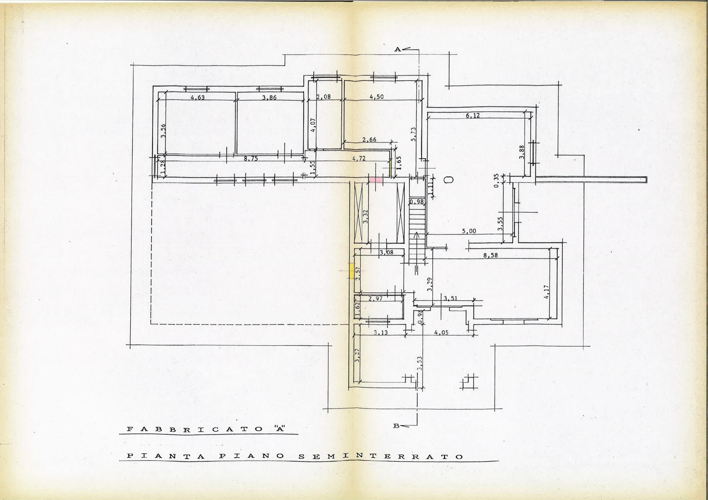 Planimetria 2/4 per rif. IA5530