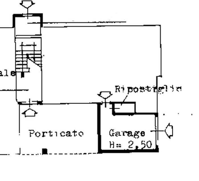 Planimetria 2/2 per rif. IA5531