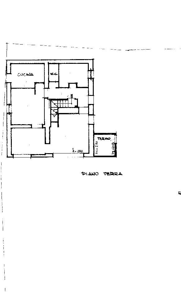 Planimetria 1/3 per rif. IA5532